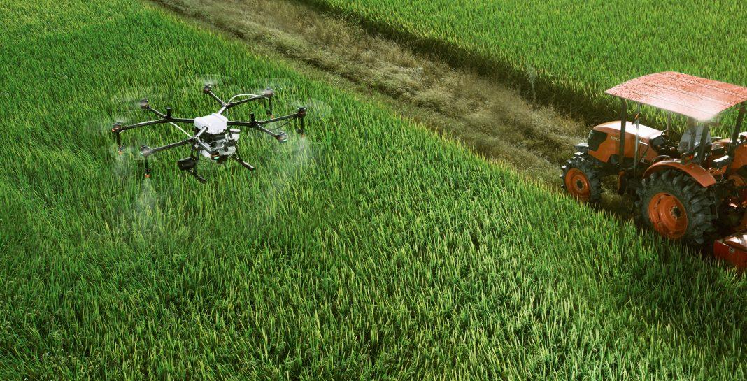 drones. campo. agricultura