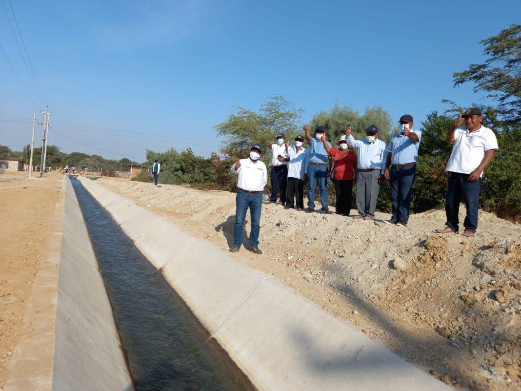 Midagri inaugura canal Las Vegas y asegura riego de 1,021 hectáreas de cultivo
