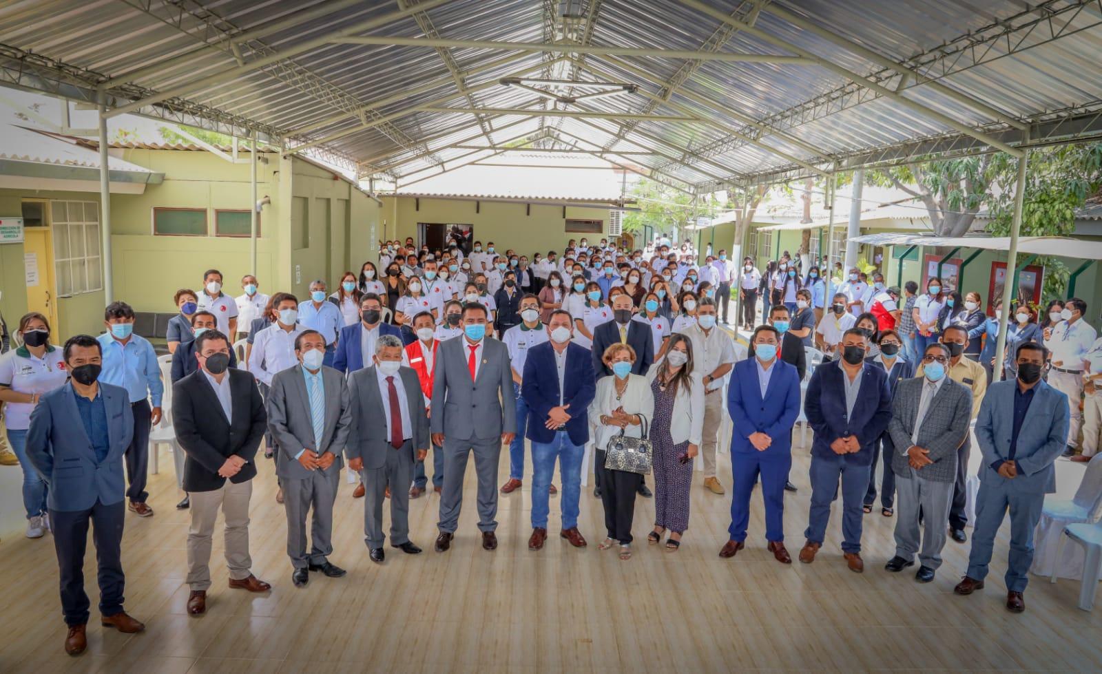 La ceremonia se realizó en las instalaciones del Proyecto Especial Chira-Piura.